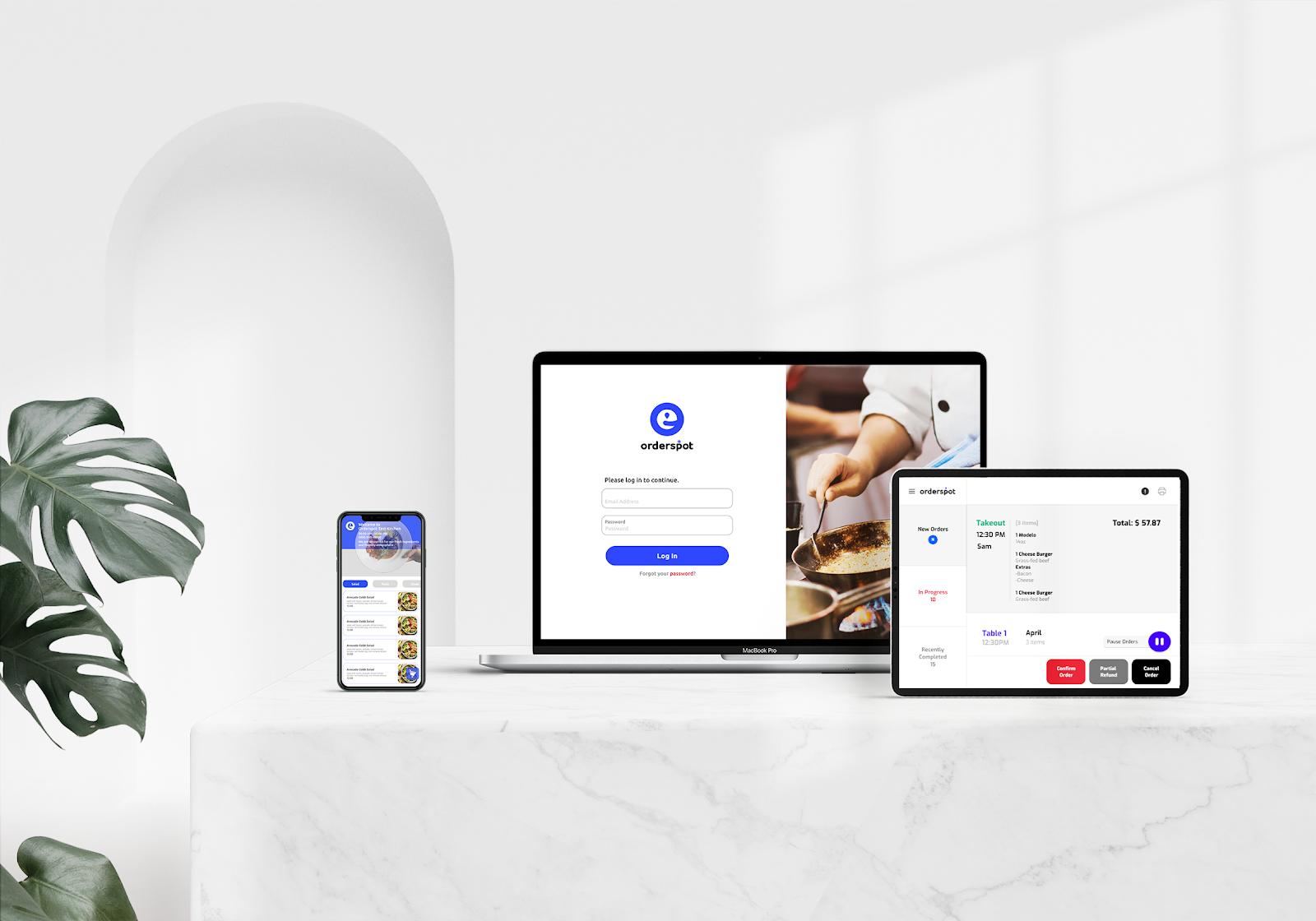 Orderspot Omnichannel Restaurant Ordering App