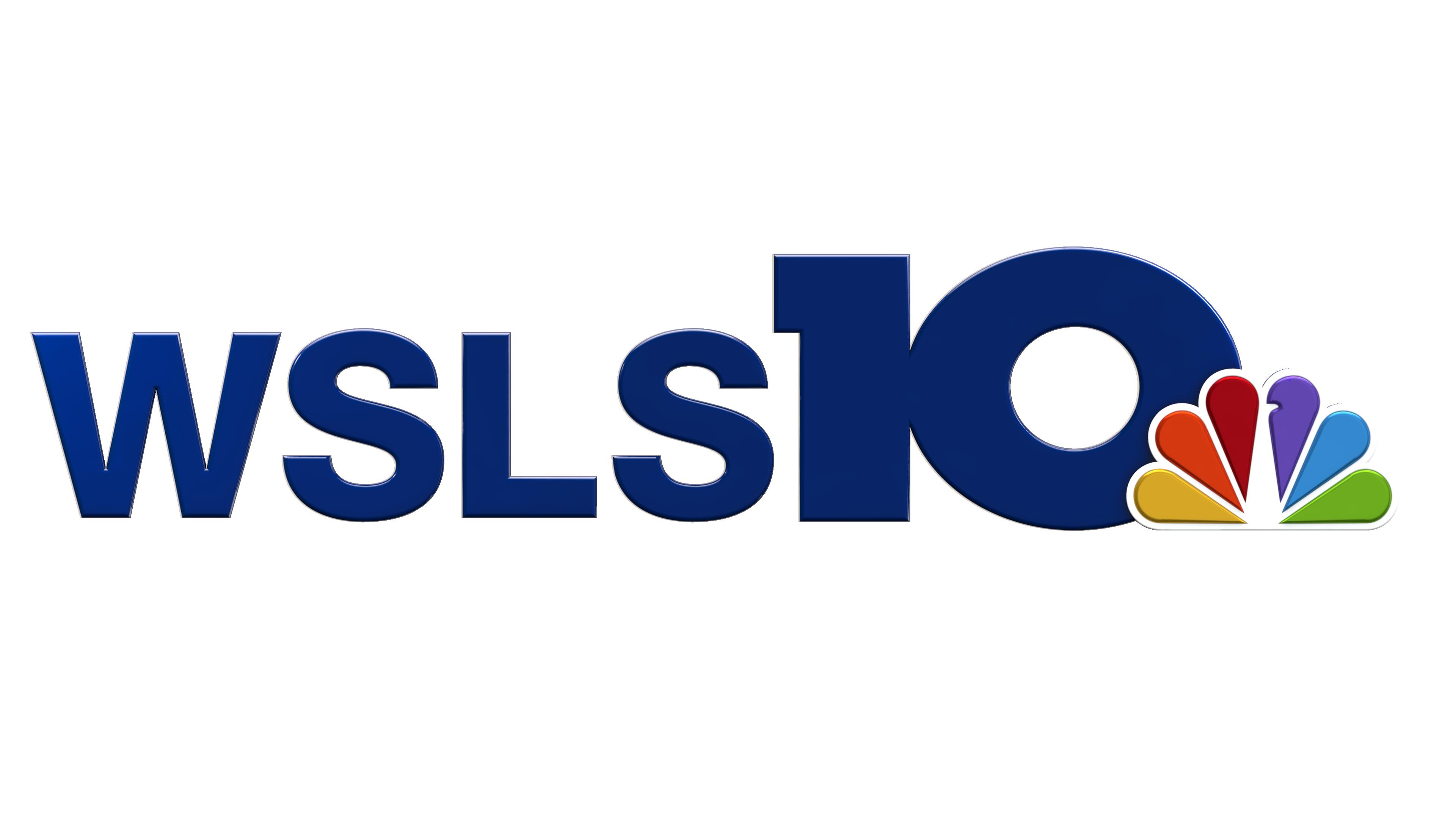 NBC WSLS-10 Roanoke TV Station Logo