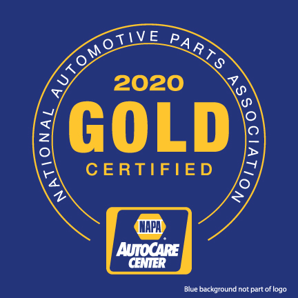 J's Auto Service is a Gold Certified member of the NAPA AutoCare program