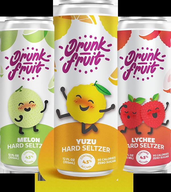 Yuzu flavored hard seltzer