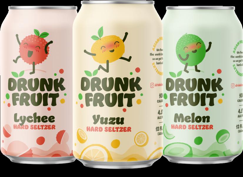 Drunk Fruit hard seltzer