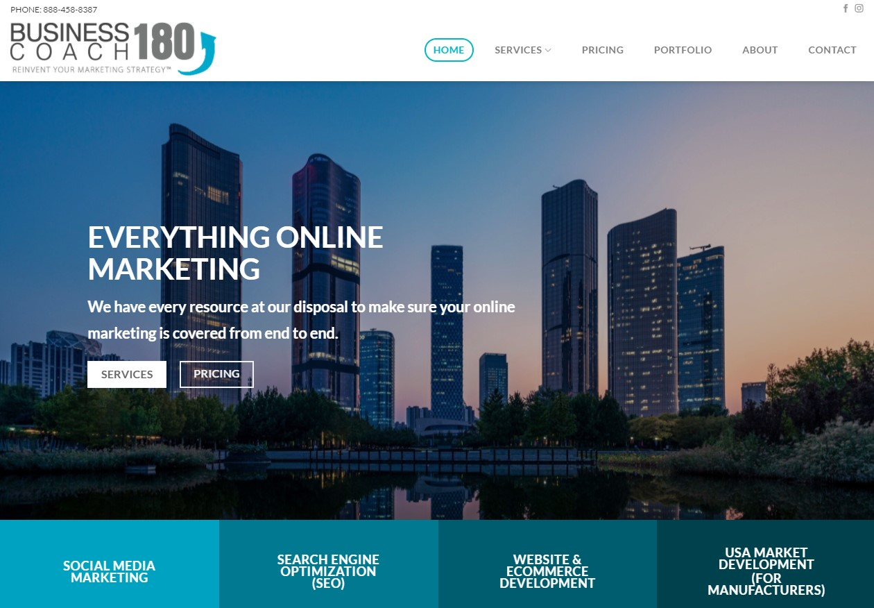 bcoaching180 website