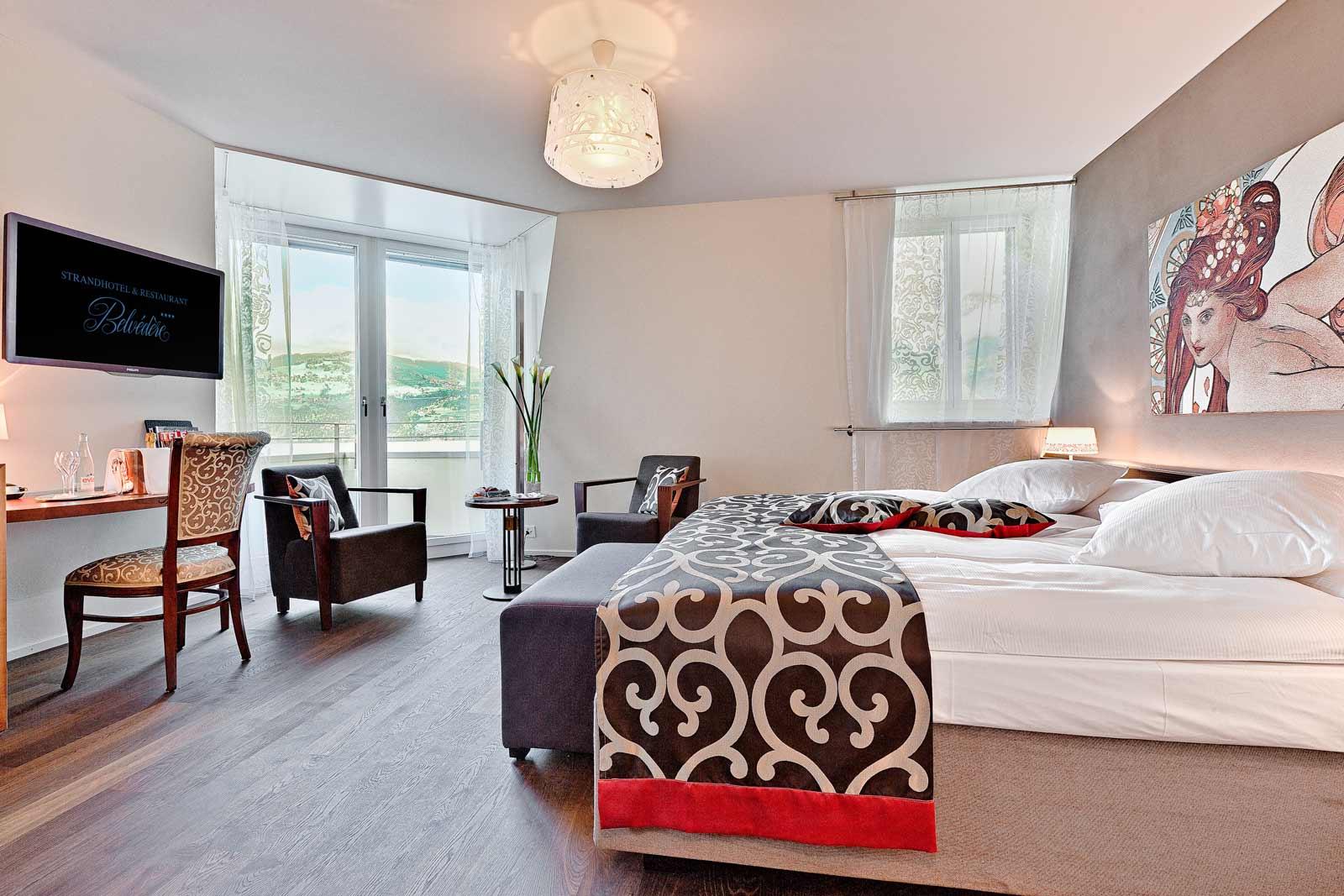 Hotel rooms in Belle Époque style