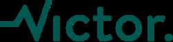 logo Victor zielone
