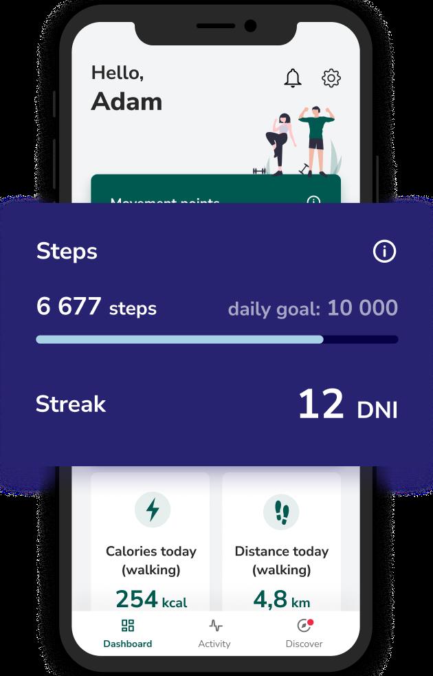 Victor mobile application - steps