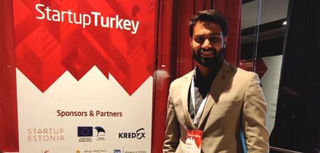 Rahul Veerwal at Startup Turkey