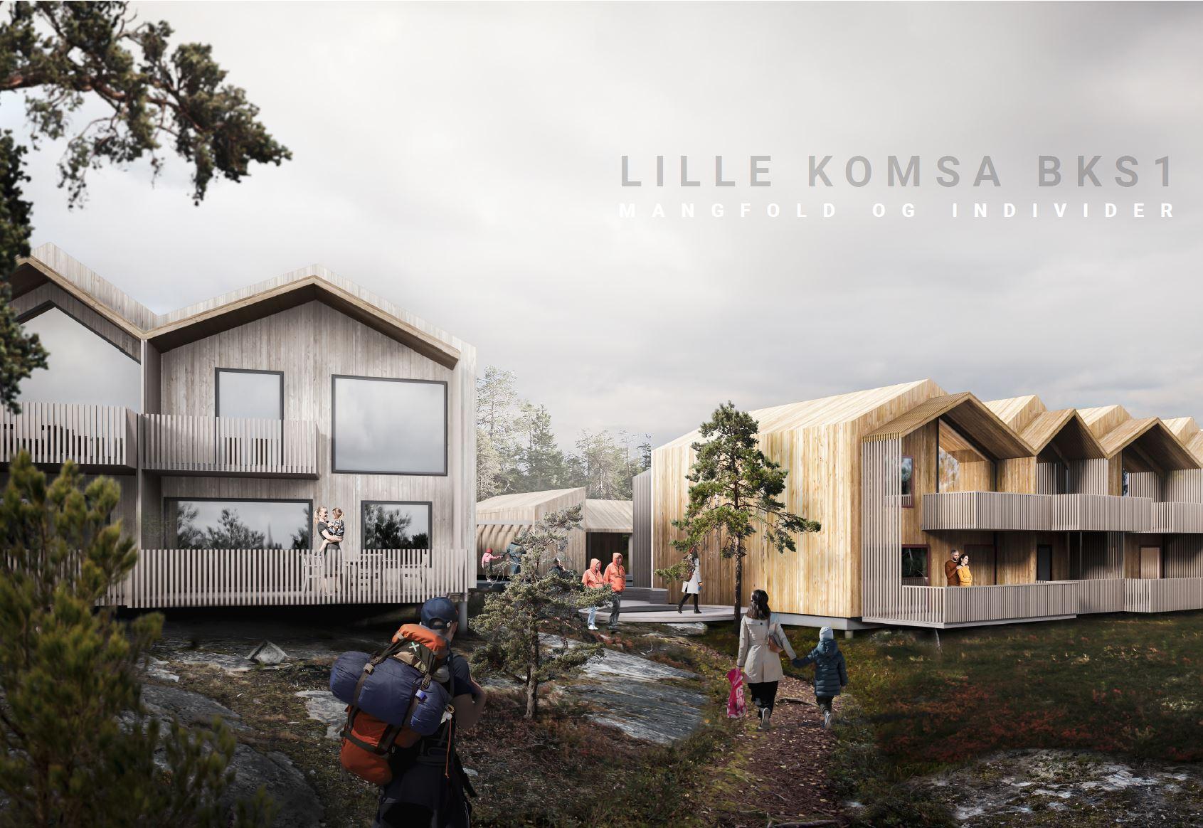 Vi vant 1.premie for Lille Komsa boligområde!