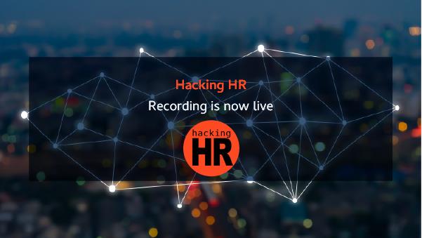 Hacking HR with Enrique Rubio