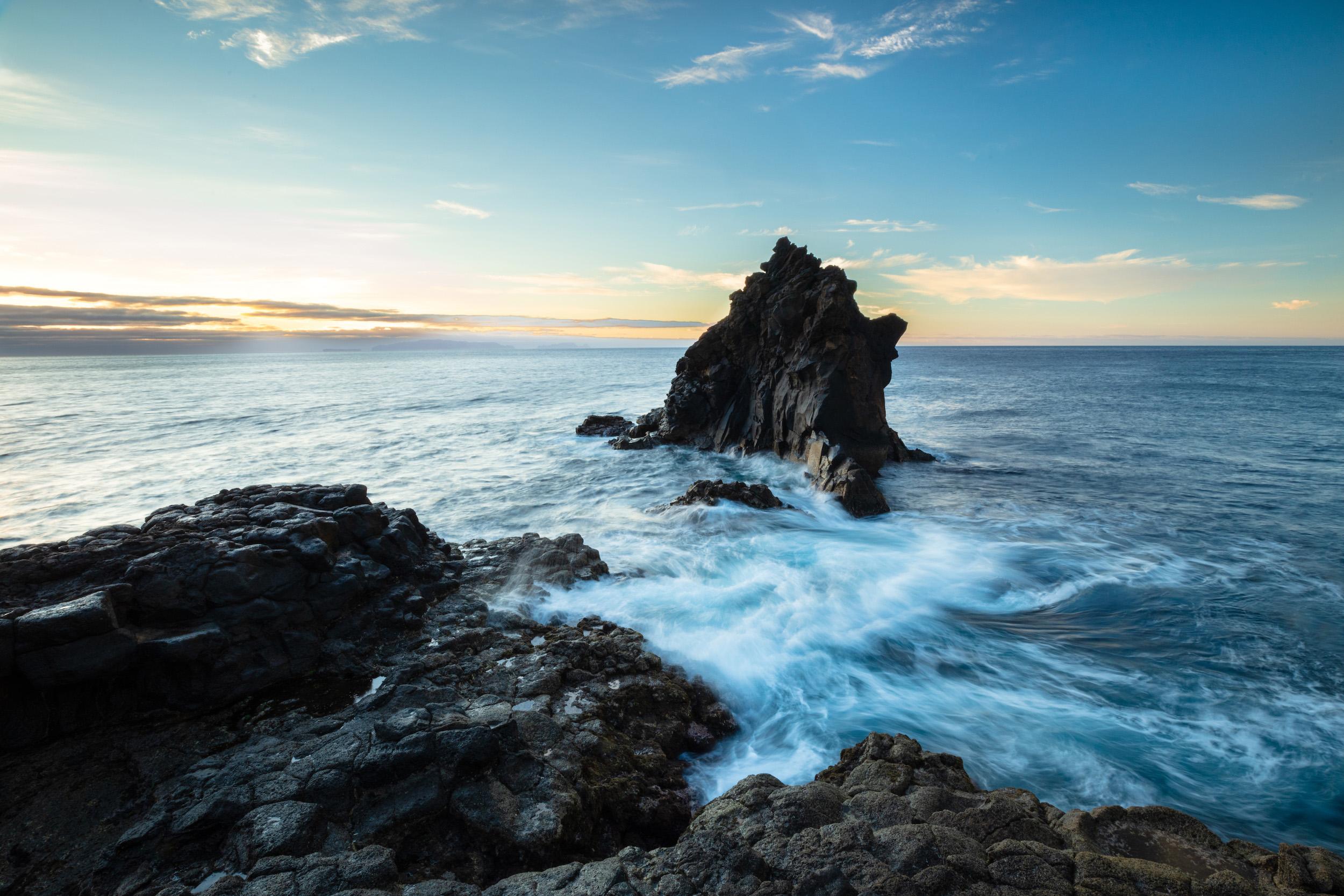 The Dramatic Seas at Madeira