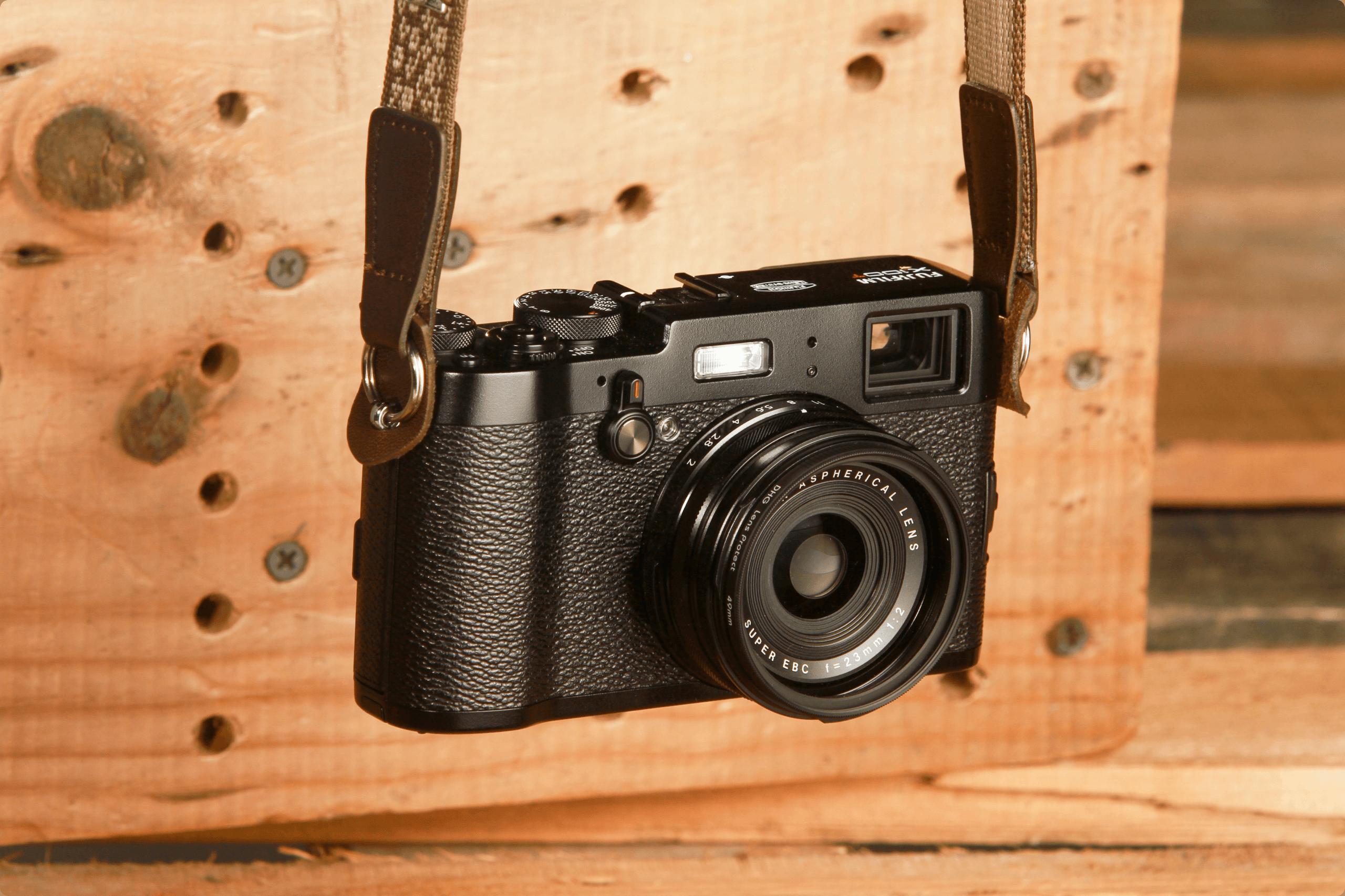 Fujifilm X100T mirrorless camera