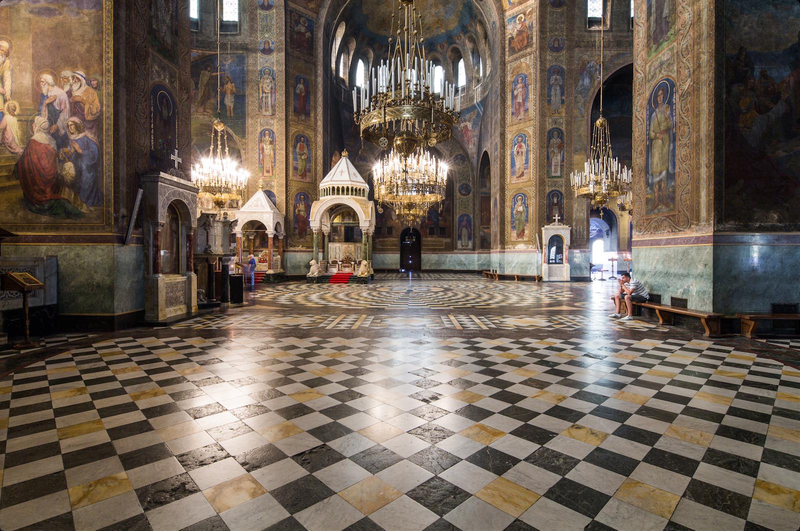Church interior shot