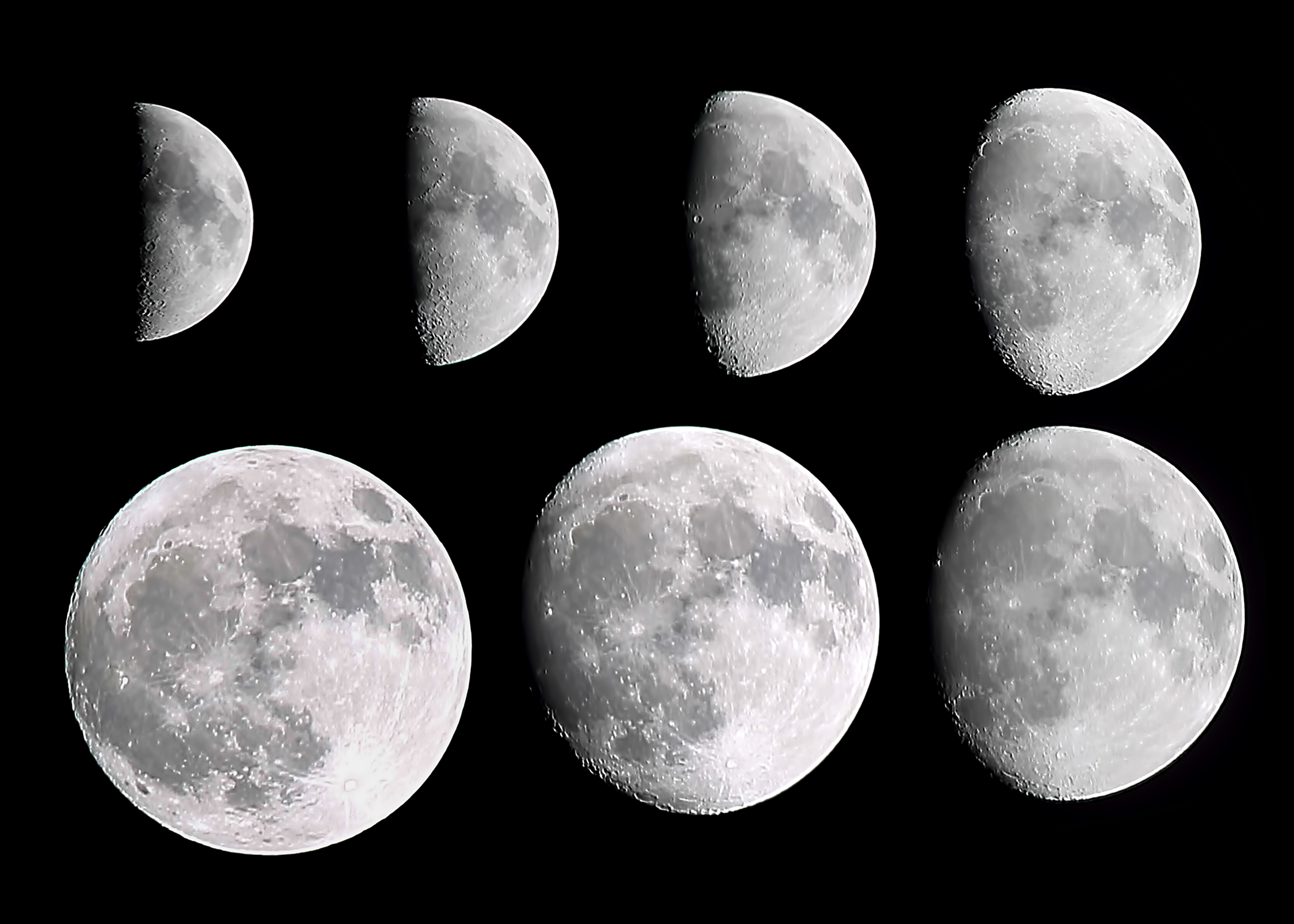 A lunar phase or phase of the moon