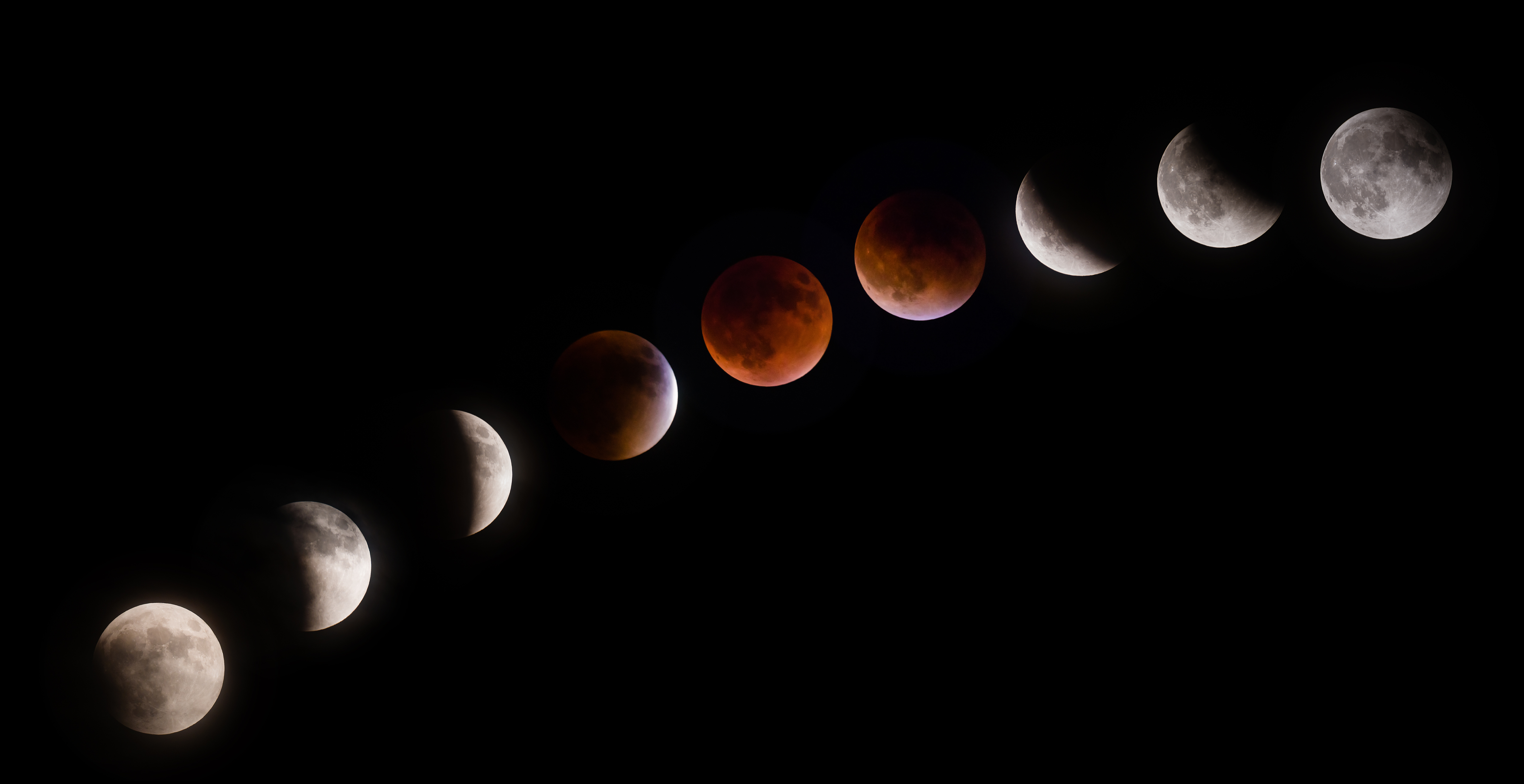 Total Supermoon lunar eclipse, also known as a Blood Moon.