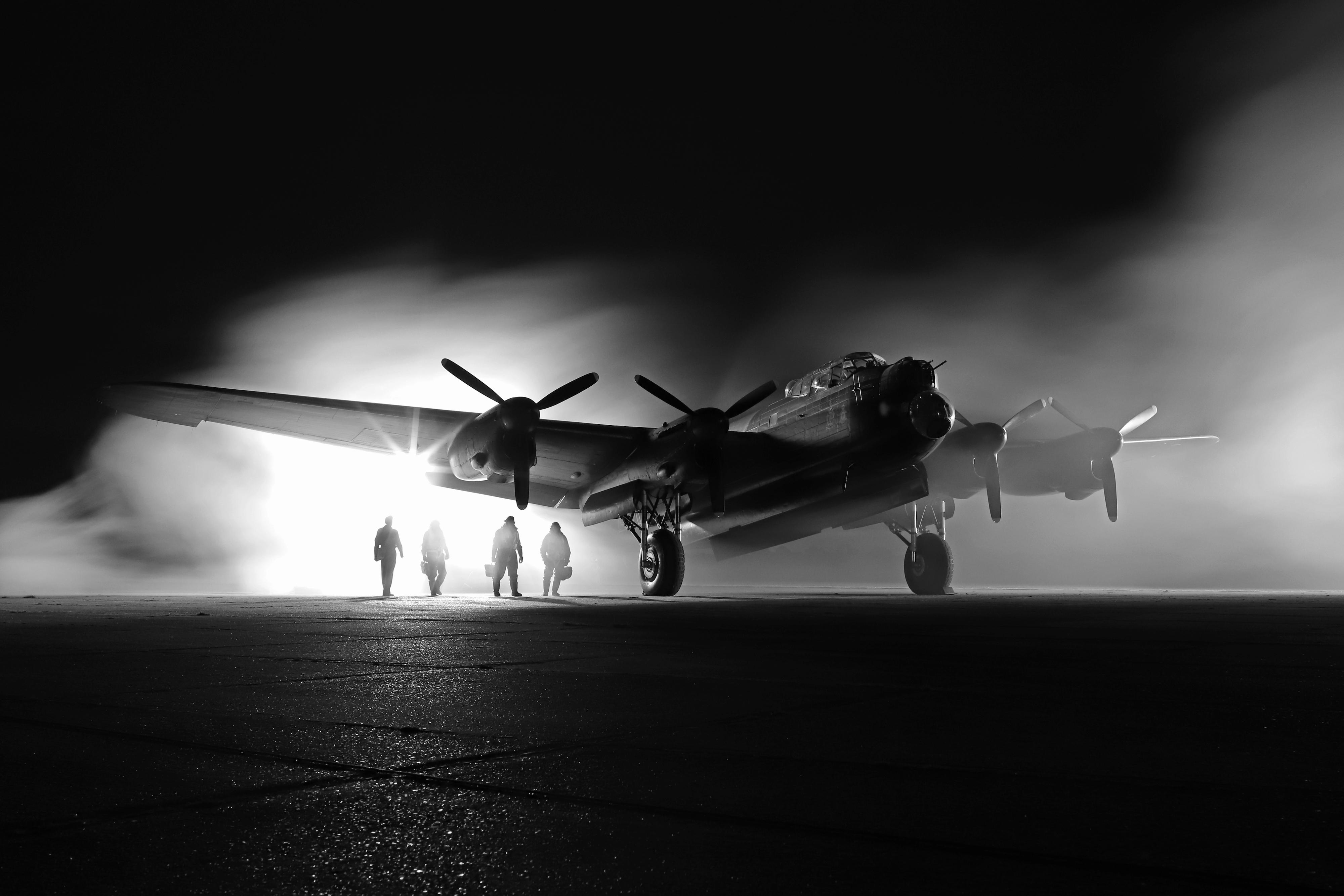 Night shoot at RAF East Kirkby