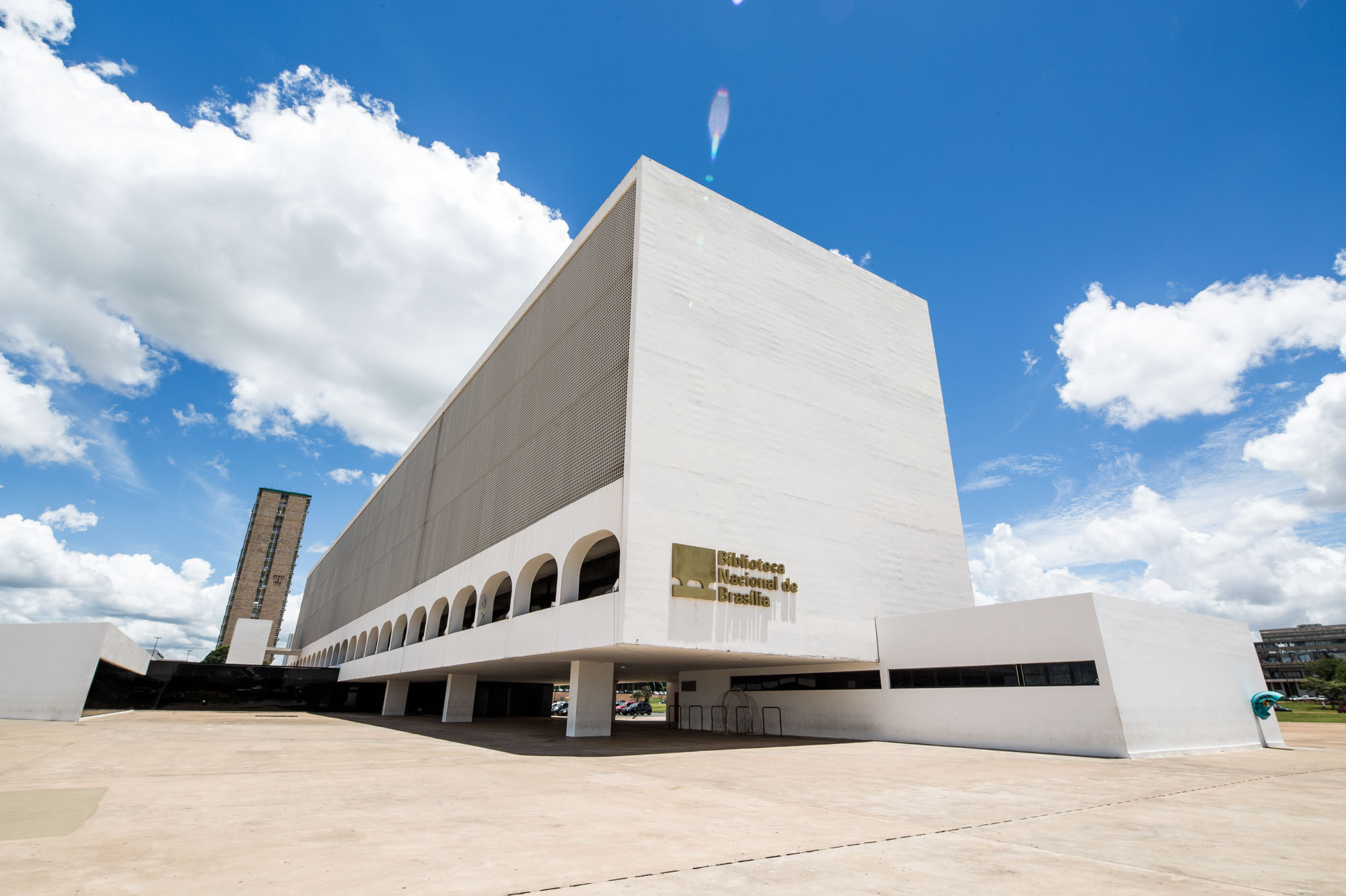 Building of the National Library of Brazil