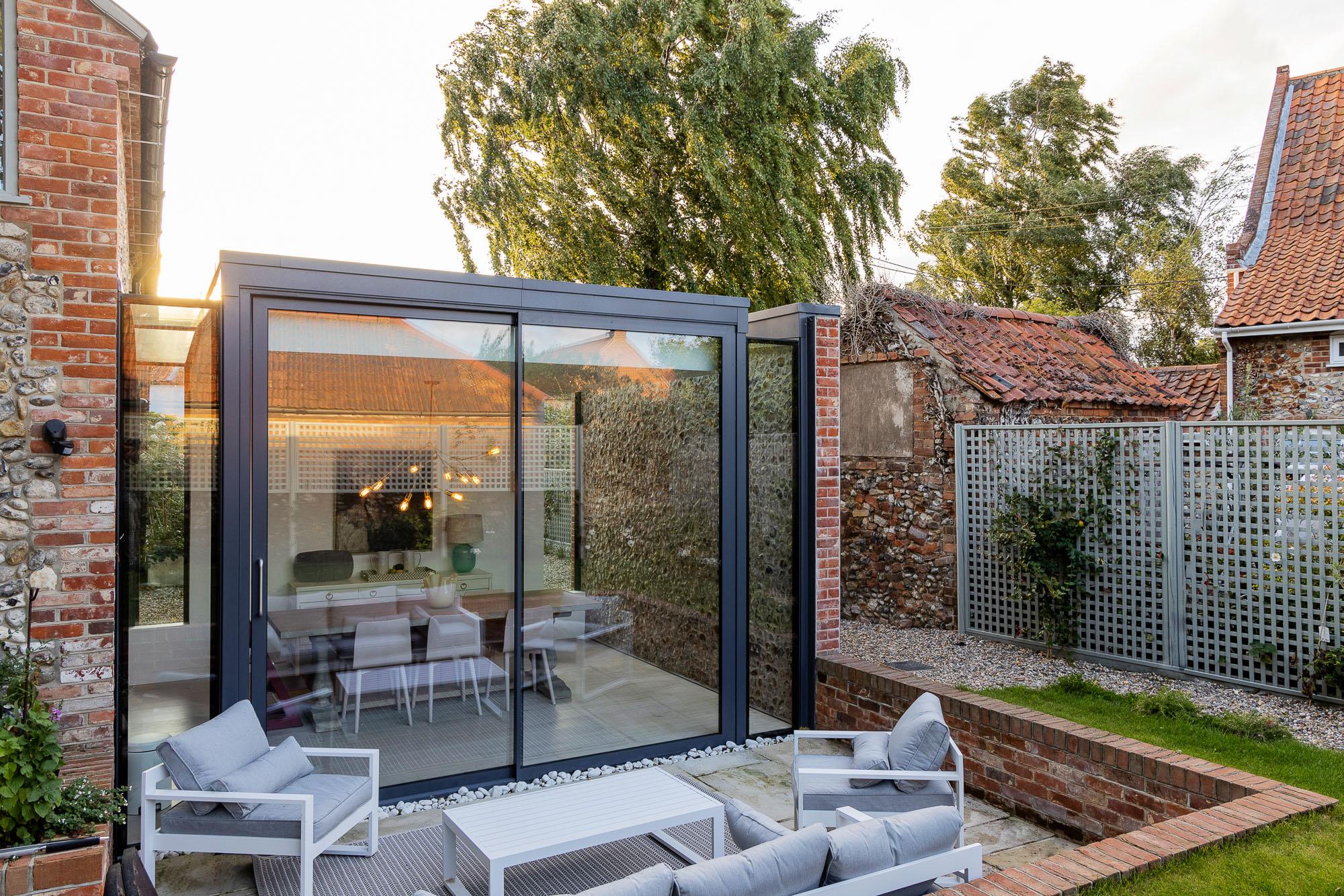 Garden and exterior glass doors