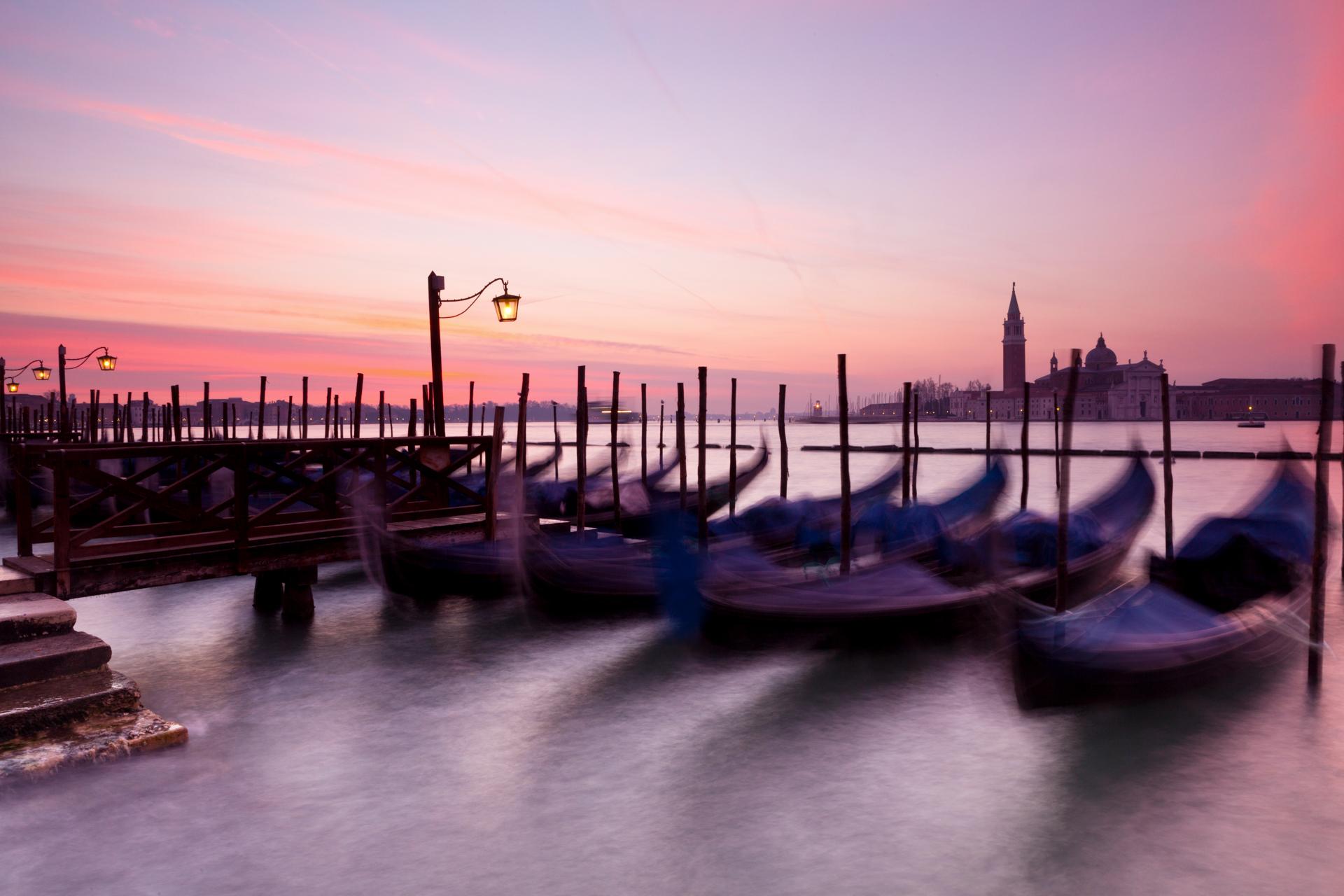 Venice at dusk in sRGB color profile