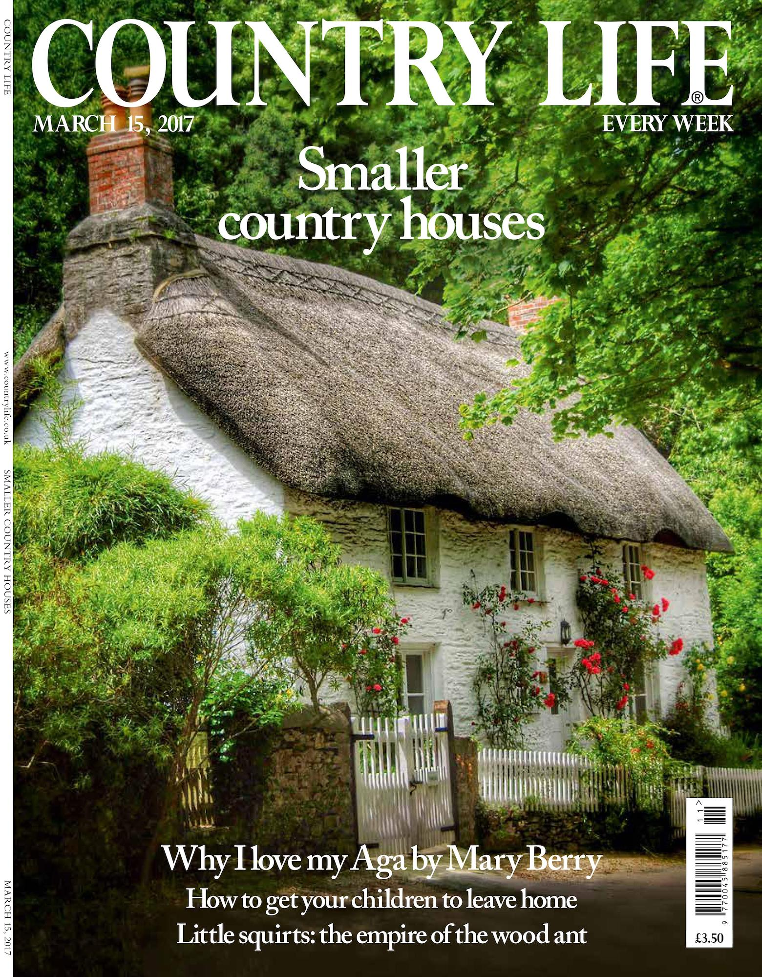 Cover of Country Life magazine March 15 2017 issue