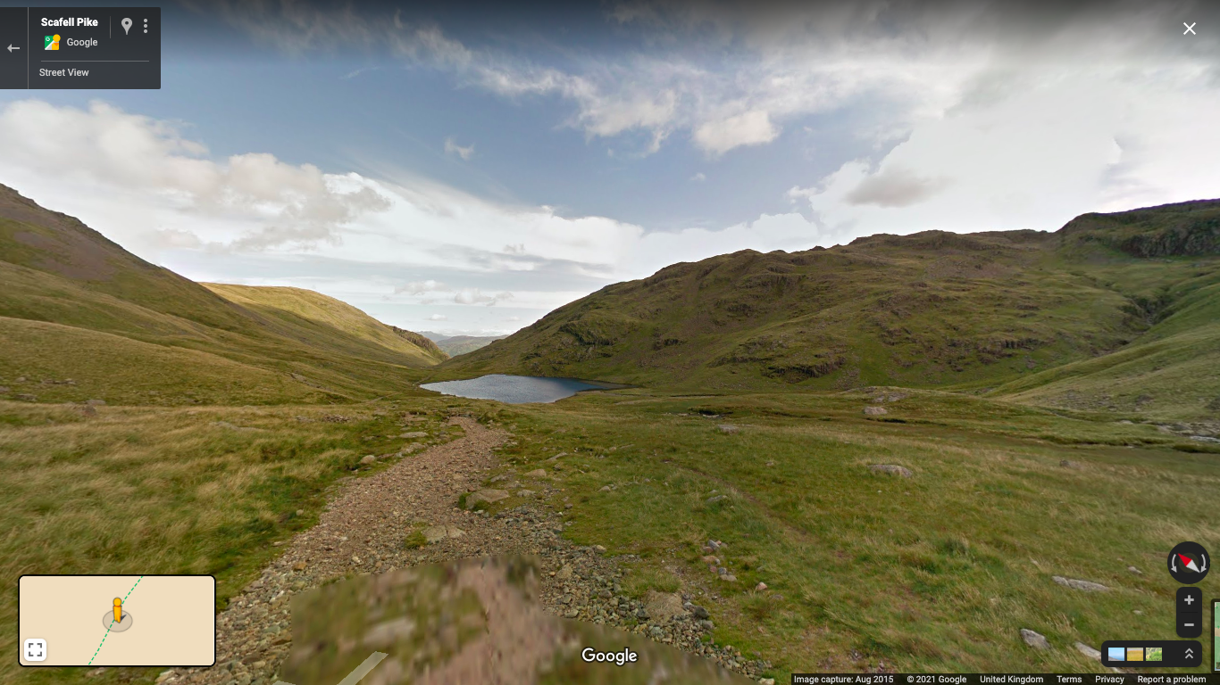 Street view of the Lake District, England