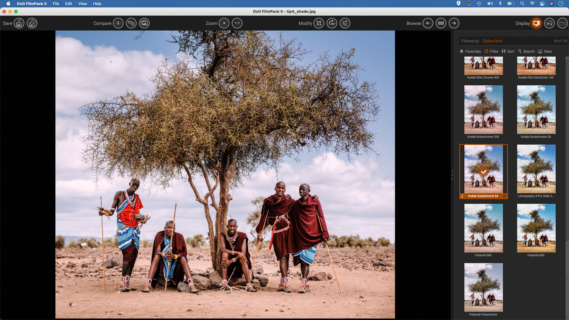 A Lightroom plugin to replicate the film photography look