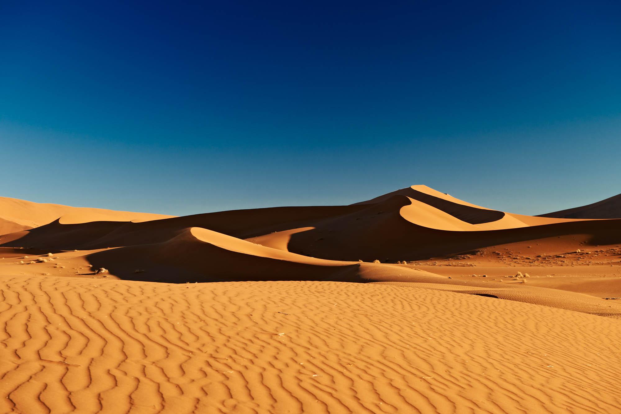The awe-inspiring dunes at Sossusvlei, Namib-Naukluft National Park, Namibia, Africa