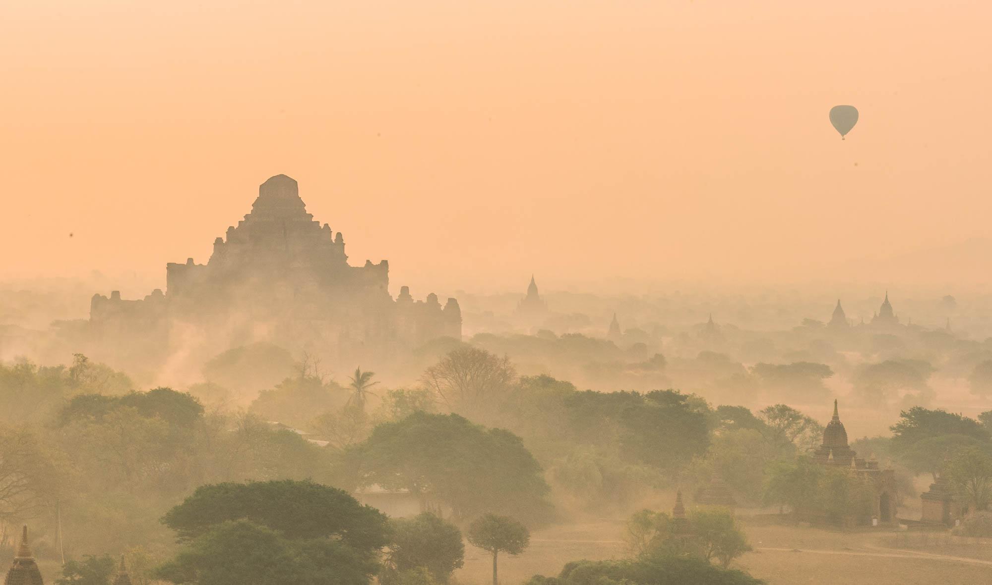 The Incredible pagodas of Bagan, Myanmar