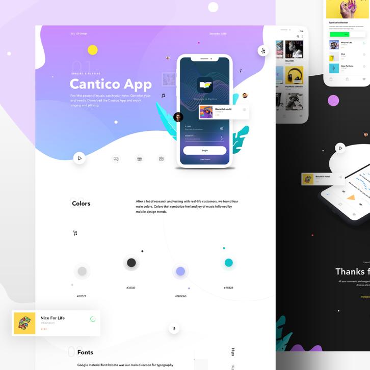 Cantico IOS App image