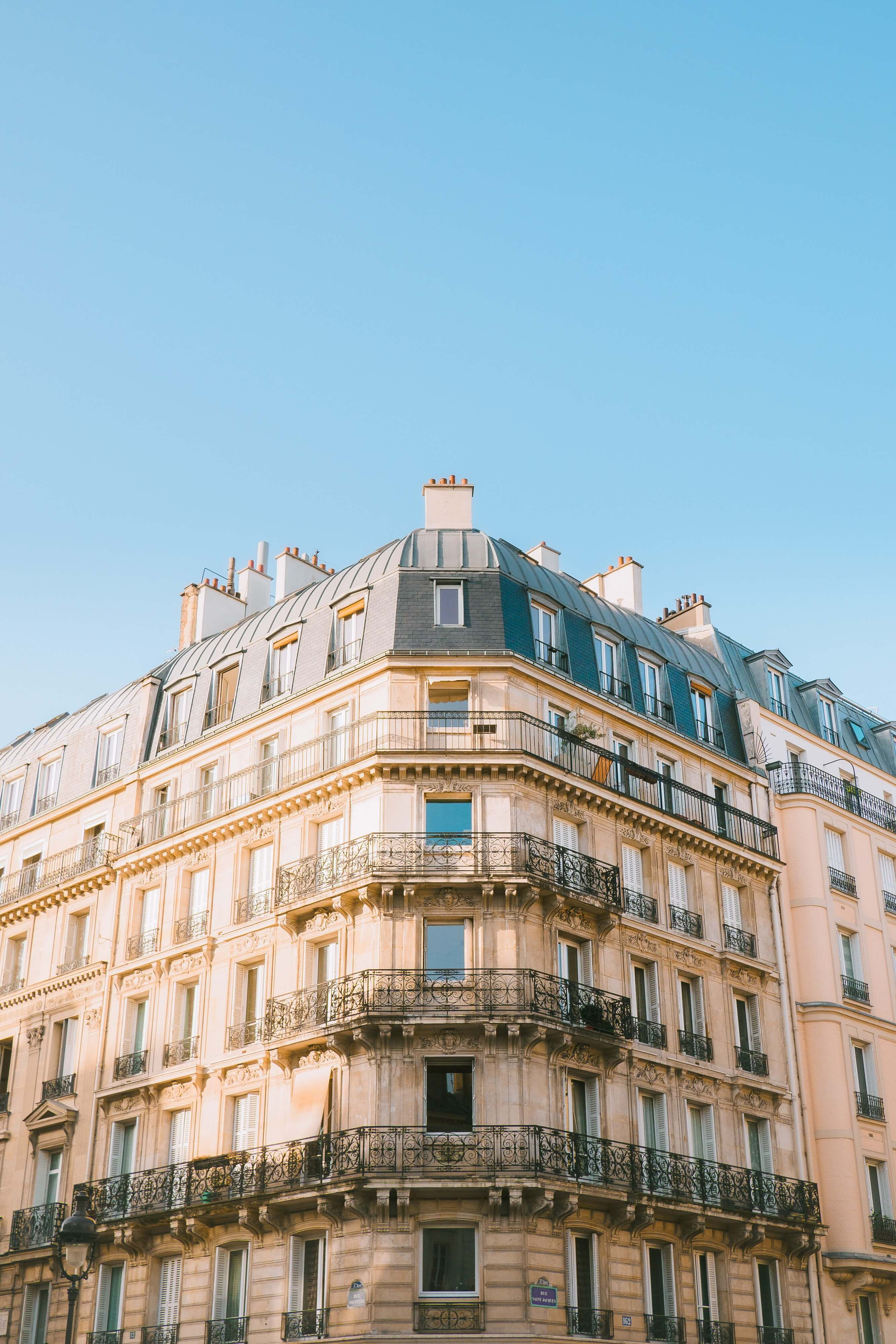 Housing building in a french city