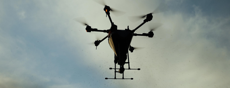 Aerial Seeding Drones