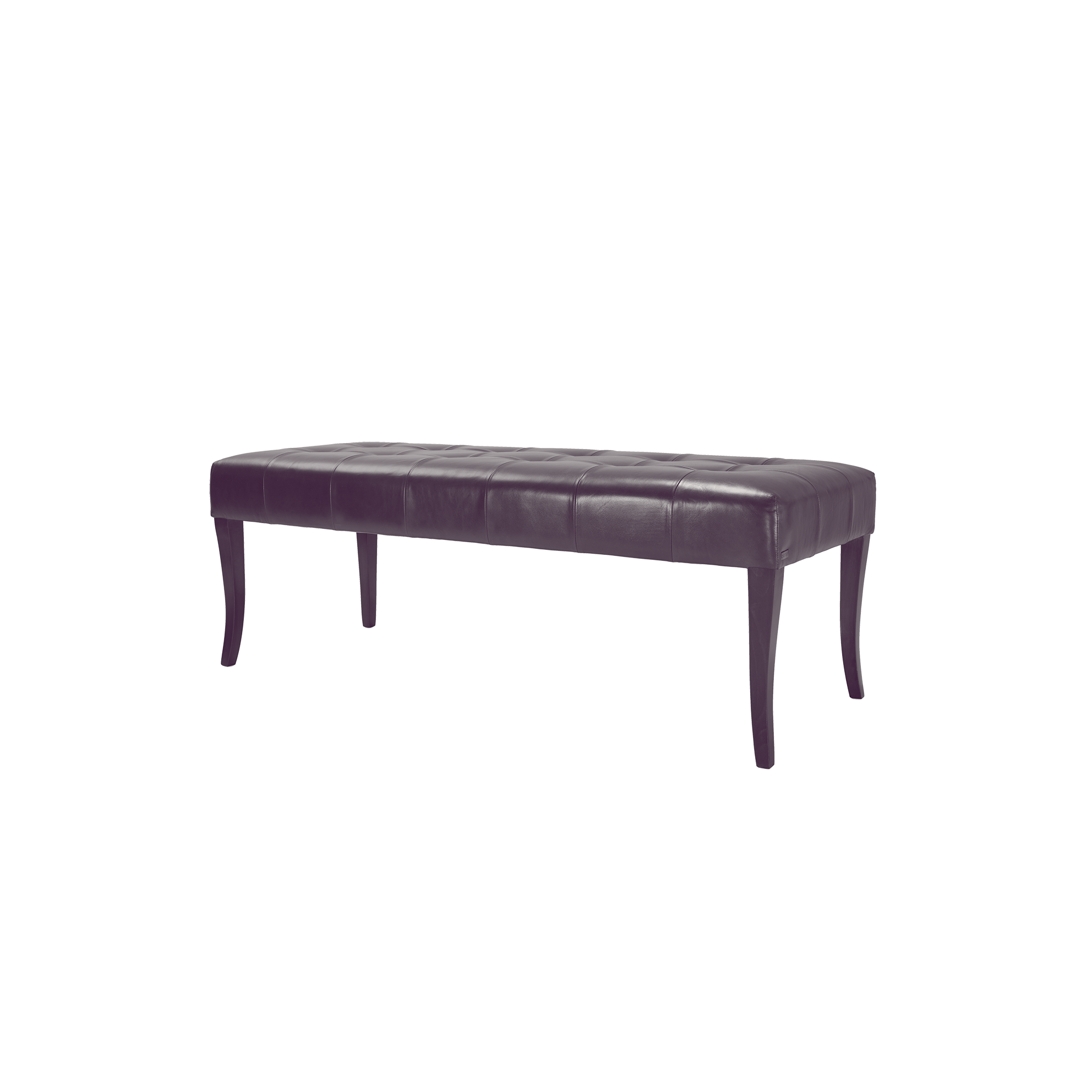 ottoman bench leather upholstered
