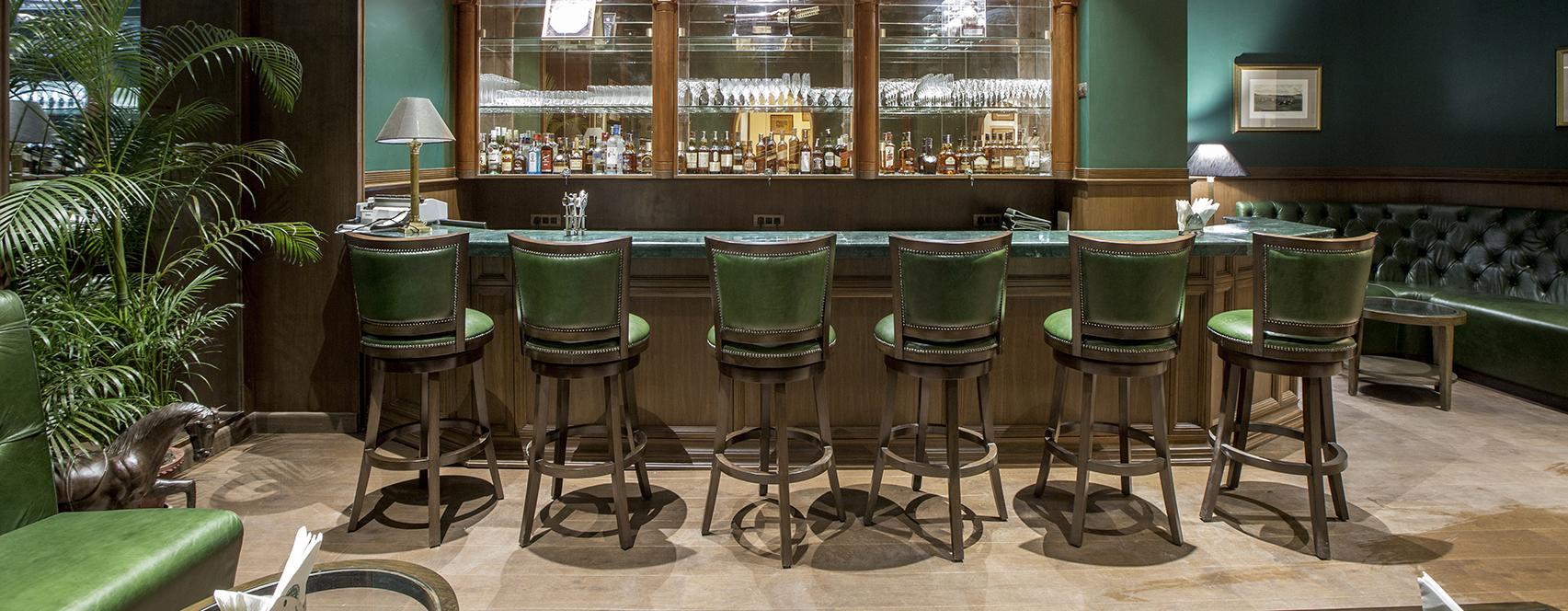 bar stools in tollygunge club