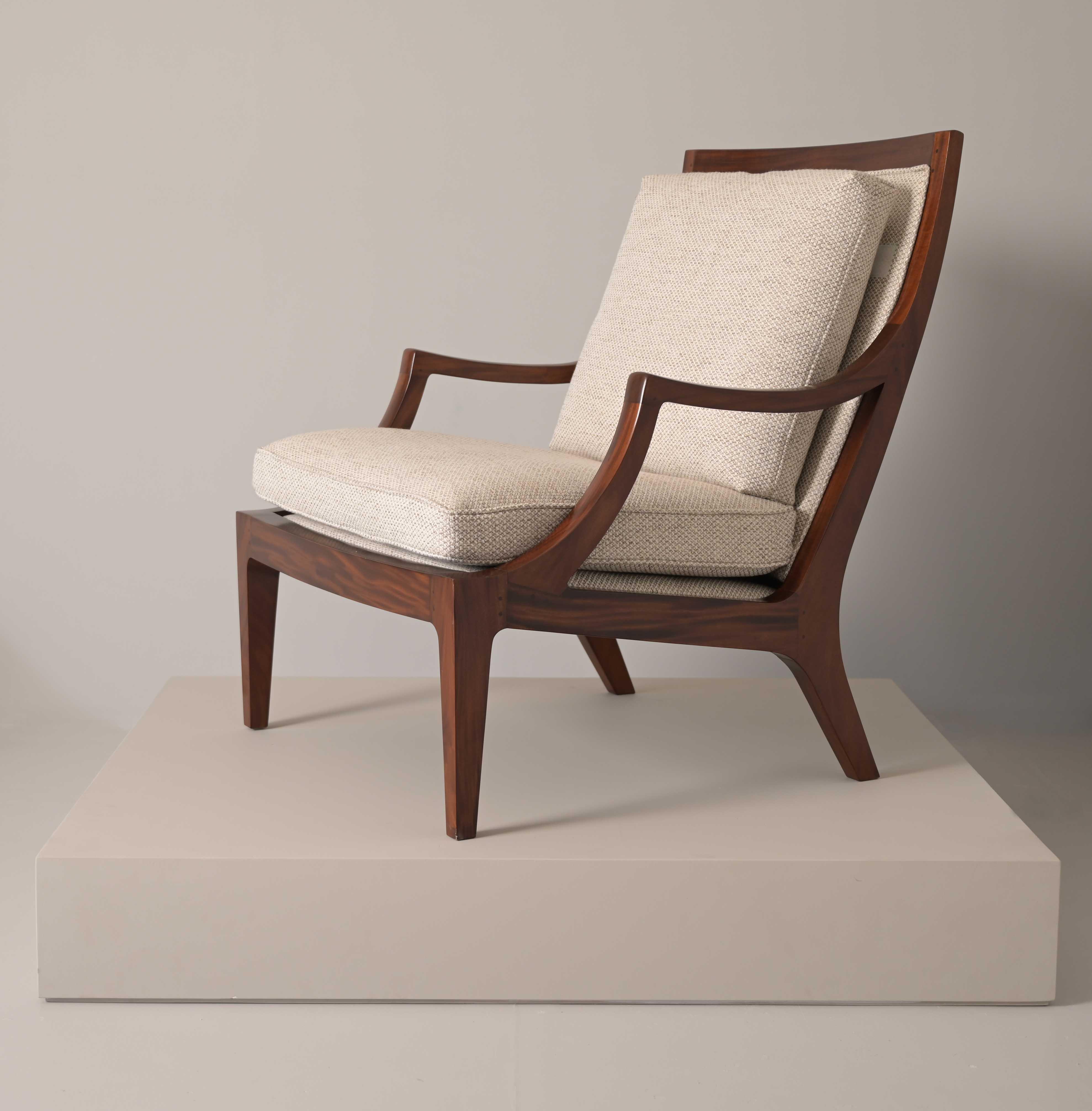 crescent armchair classic design furniture