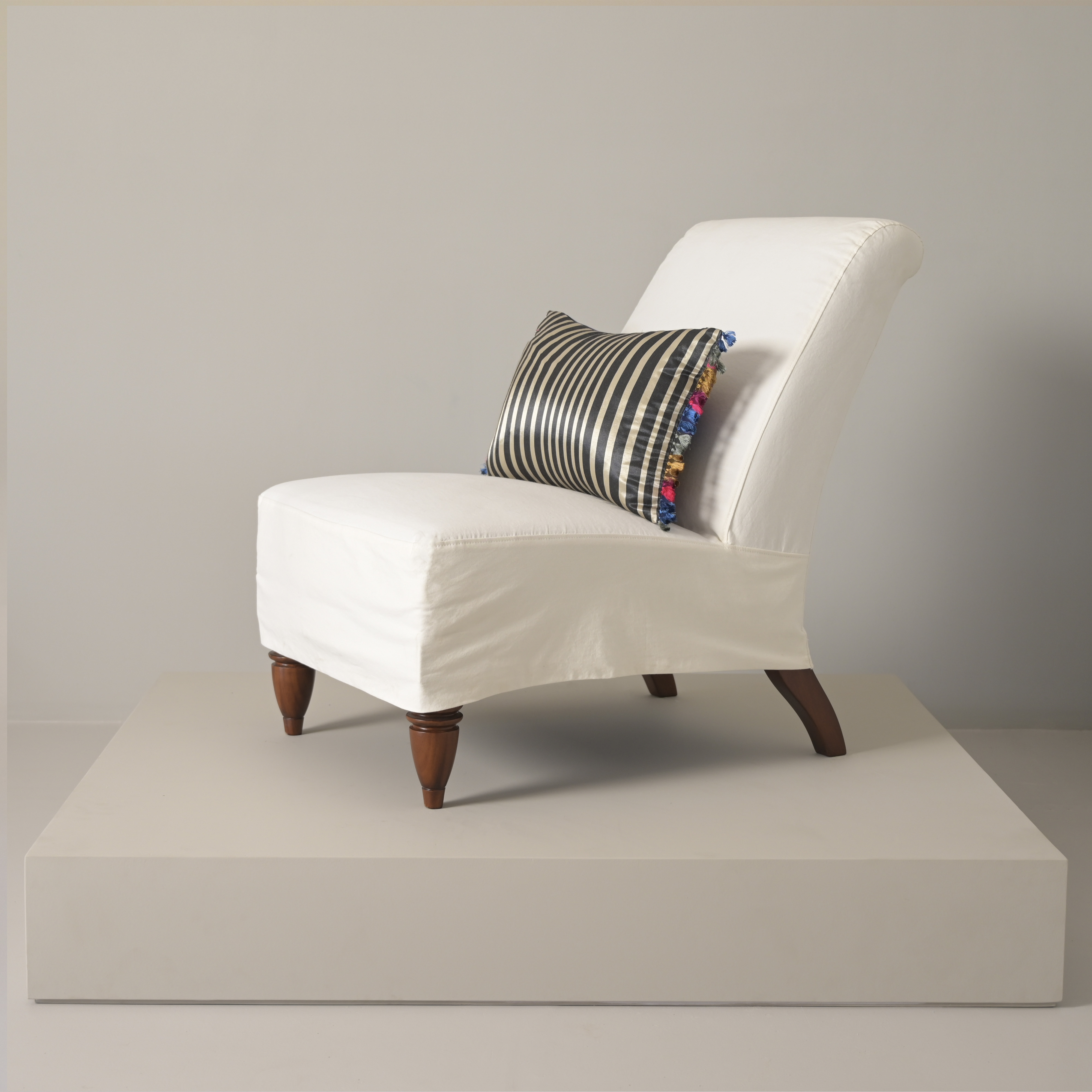 best fabric upholstered teak wood sofa classic design