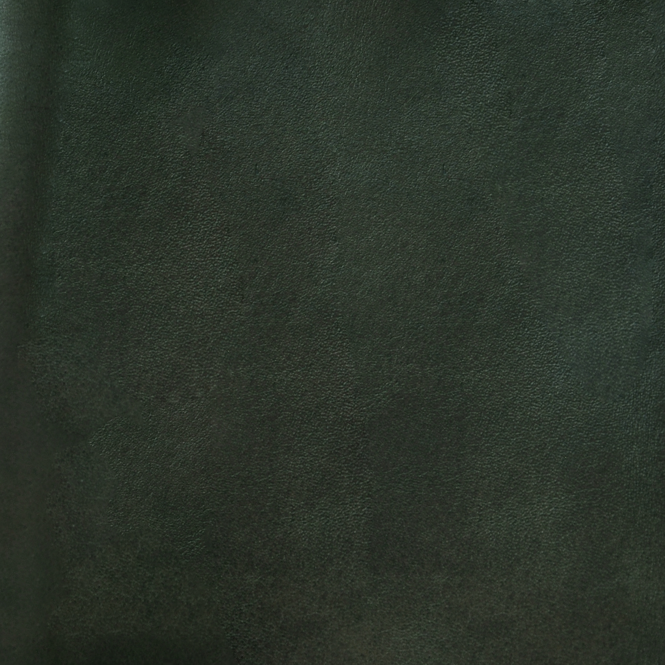 shadow leather in forest green color