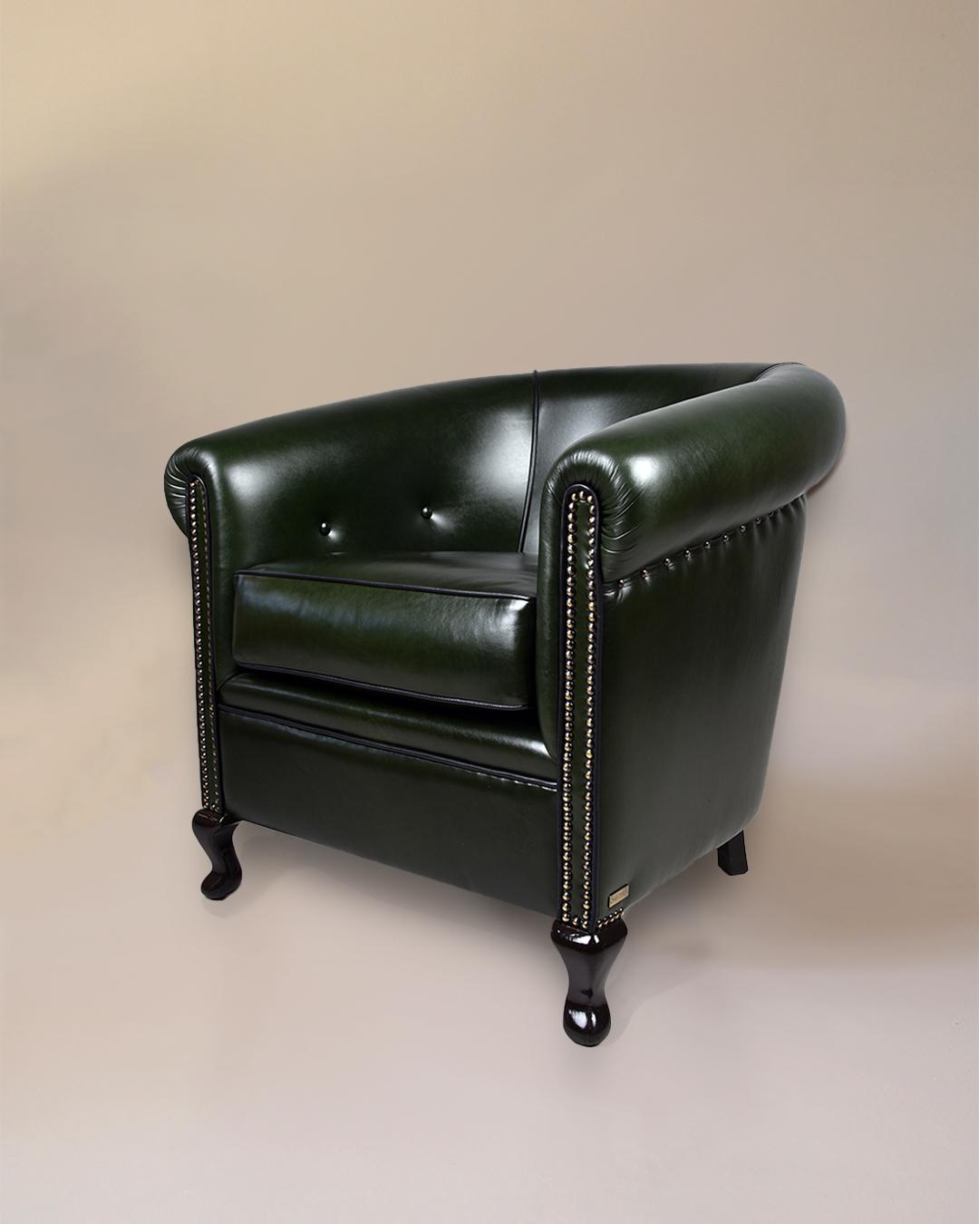 restored armchair sofa