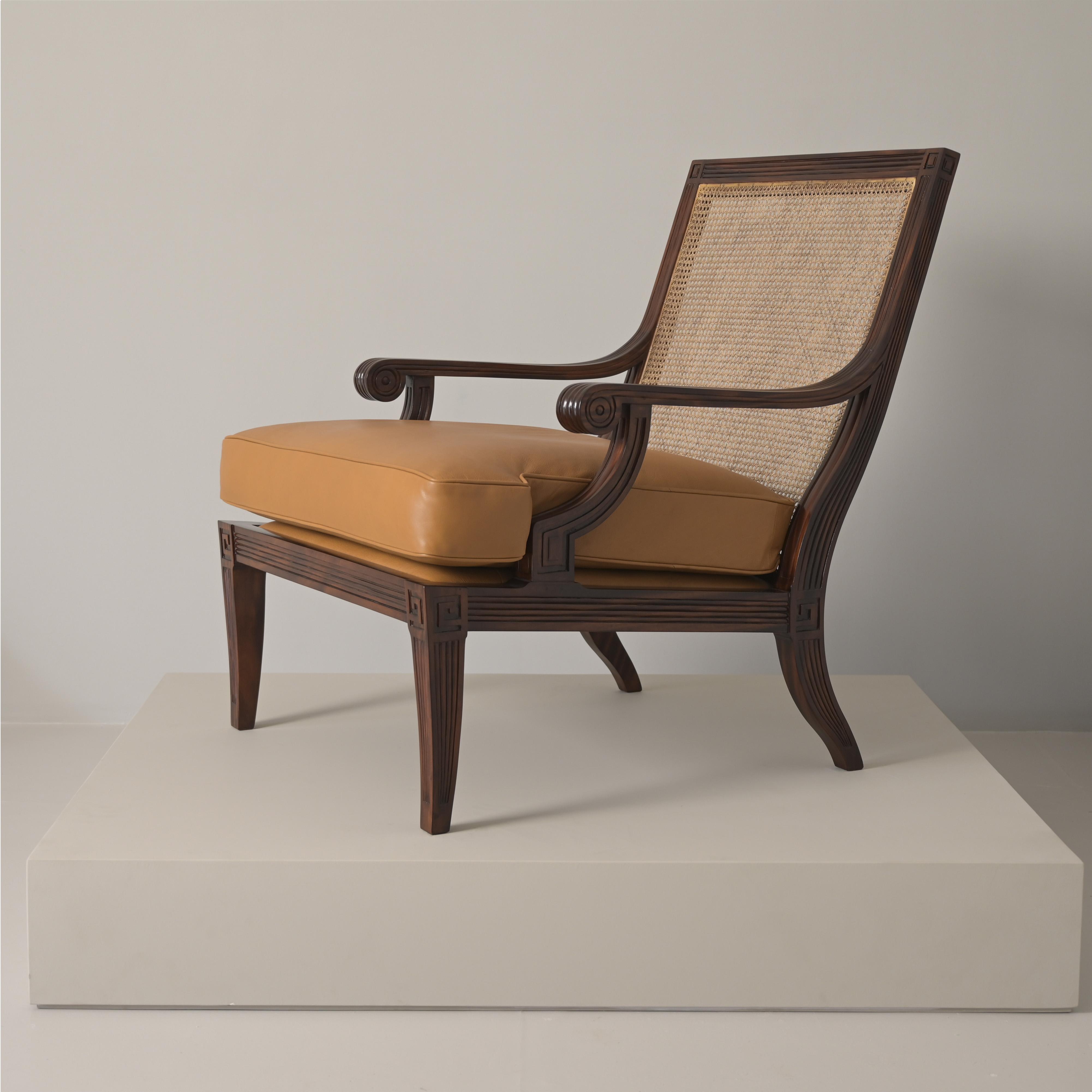 Meander armchair
