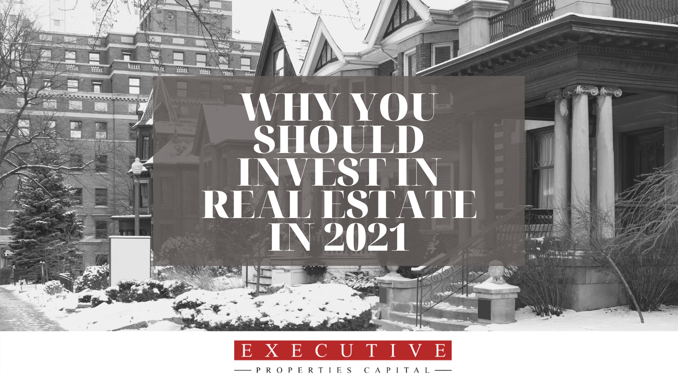 Why you should invest in realestate in 2021