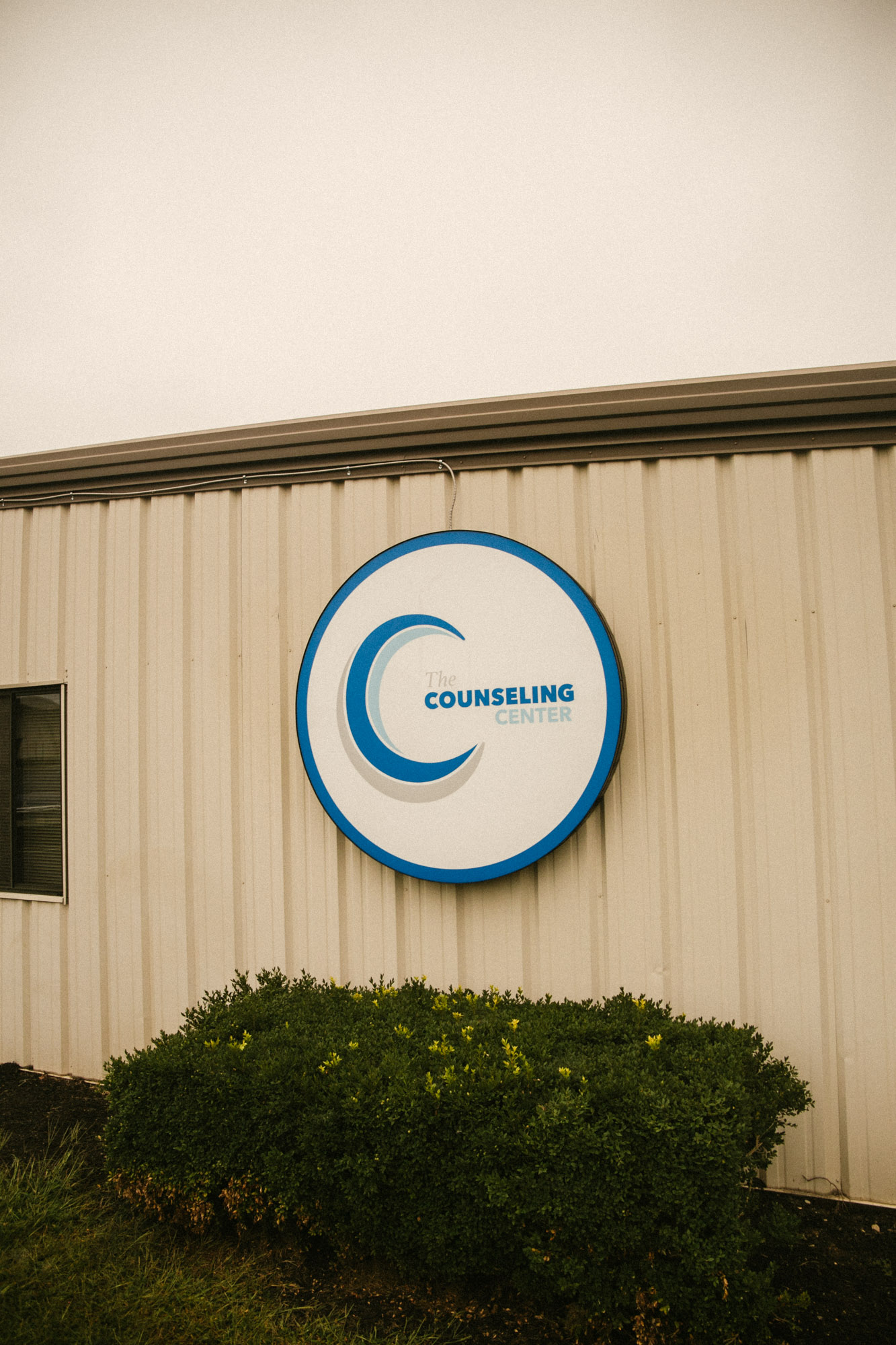 The exterior sign of The Union Chapel Counseling Center