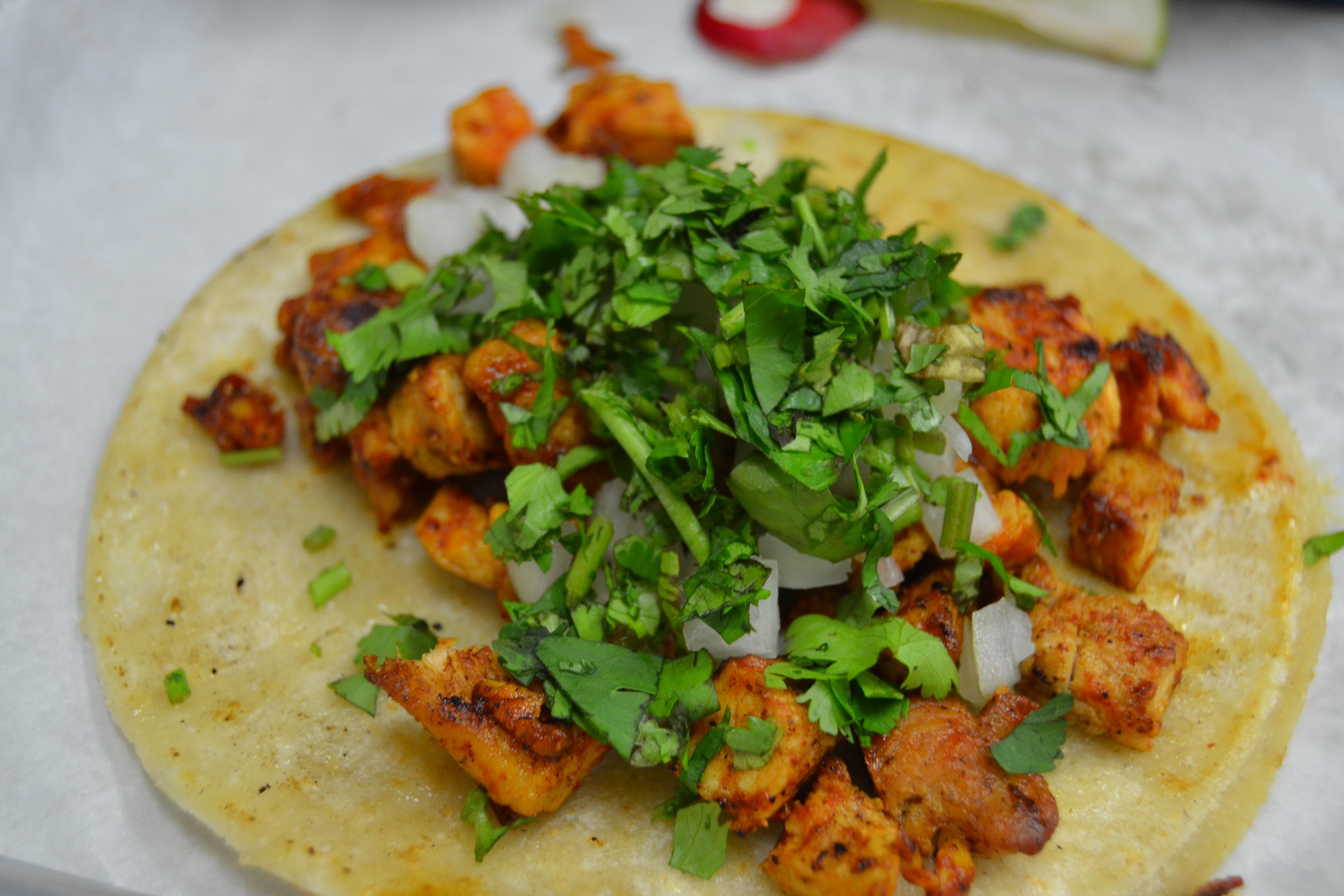 Adobo Chicken Taco