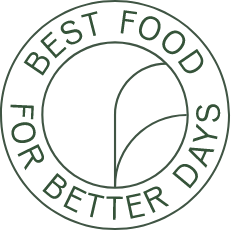 Best Food For Better Days Badge