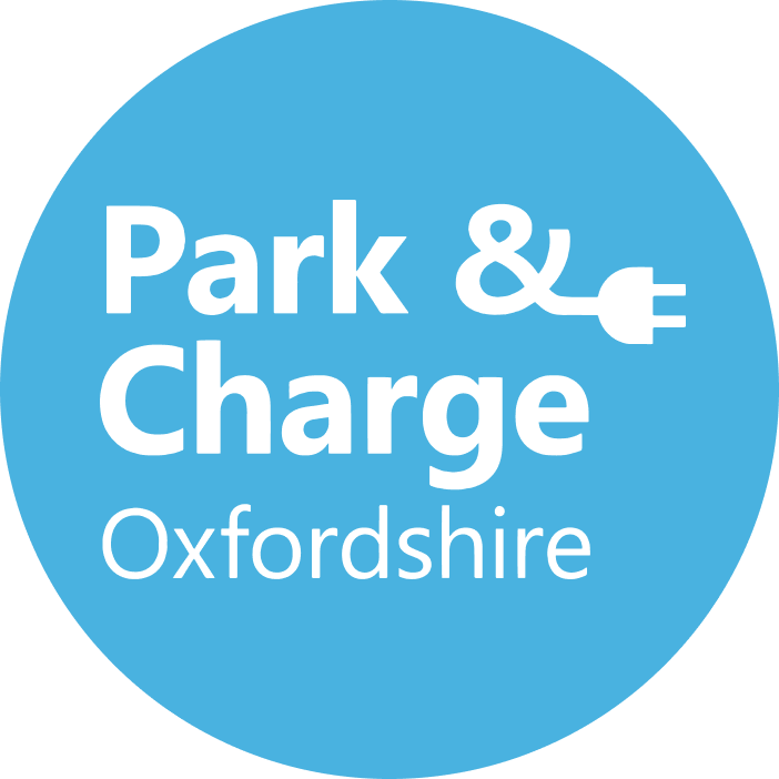 Logo for Park and Charge Oxfordshire