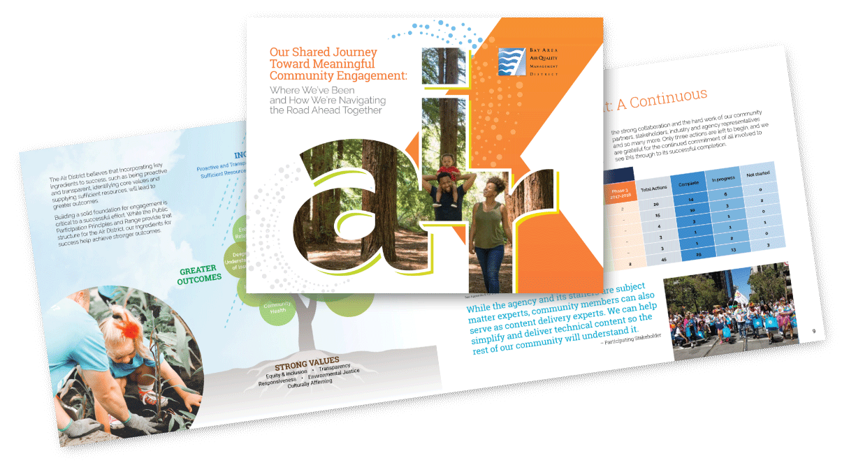 Bay Area Air Quality Management District brochure