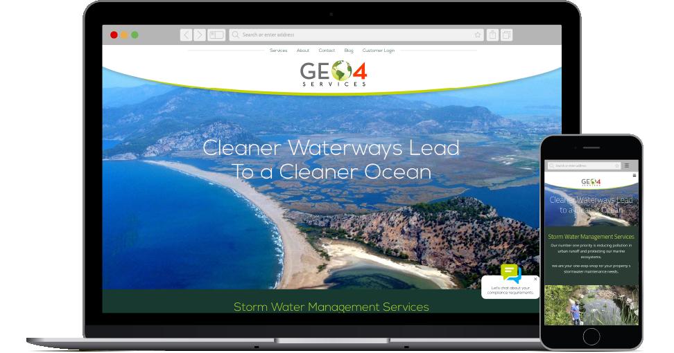 Geo4 Services website