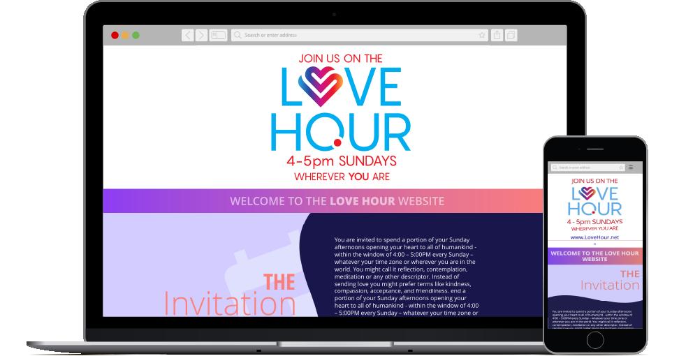 Love Hour website