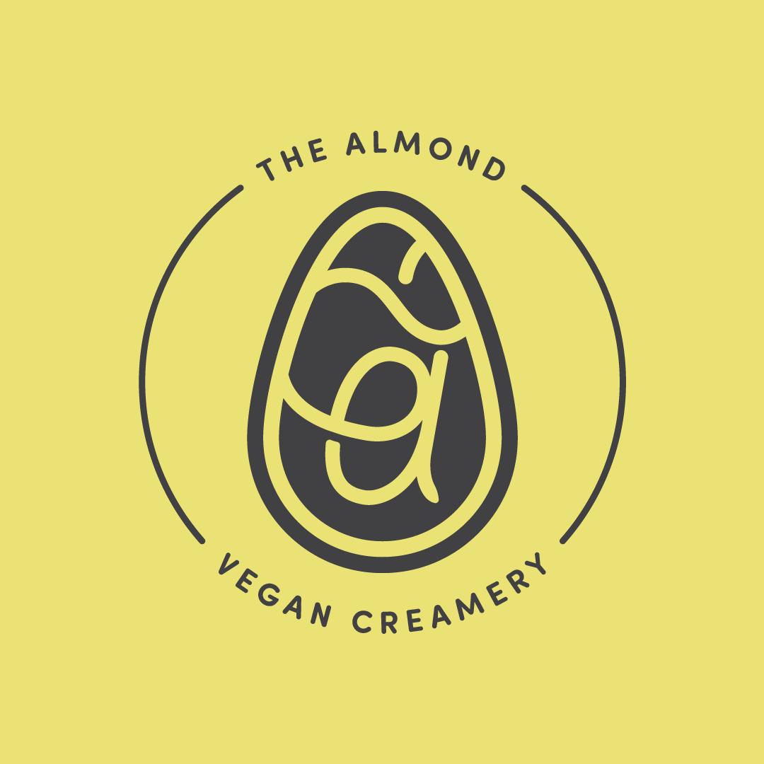 The Almond badge logo