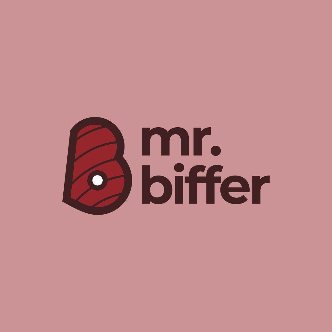 Mr. Biffer logo