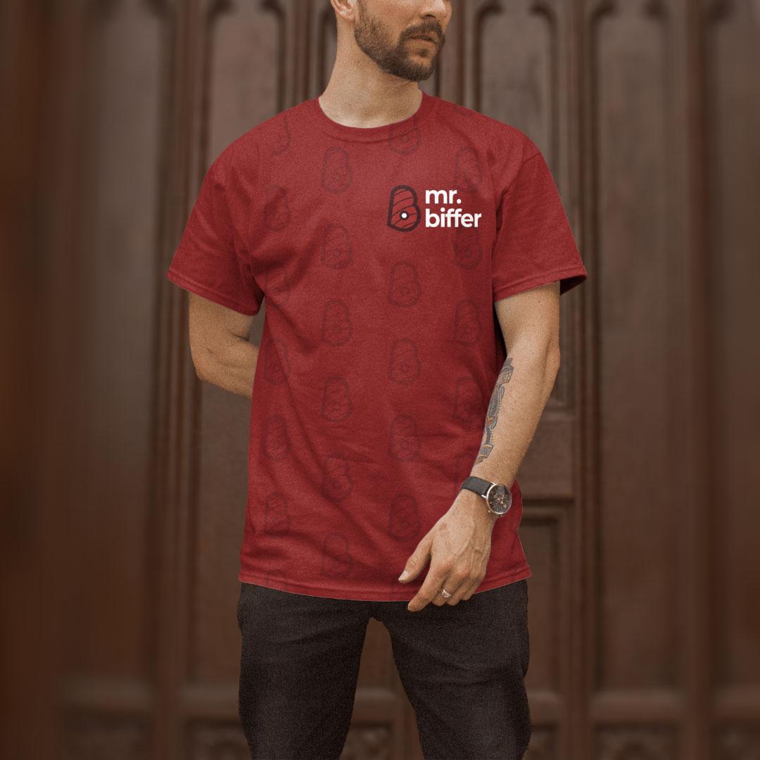 Mr. Biffer T-shirt