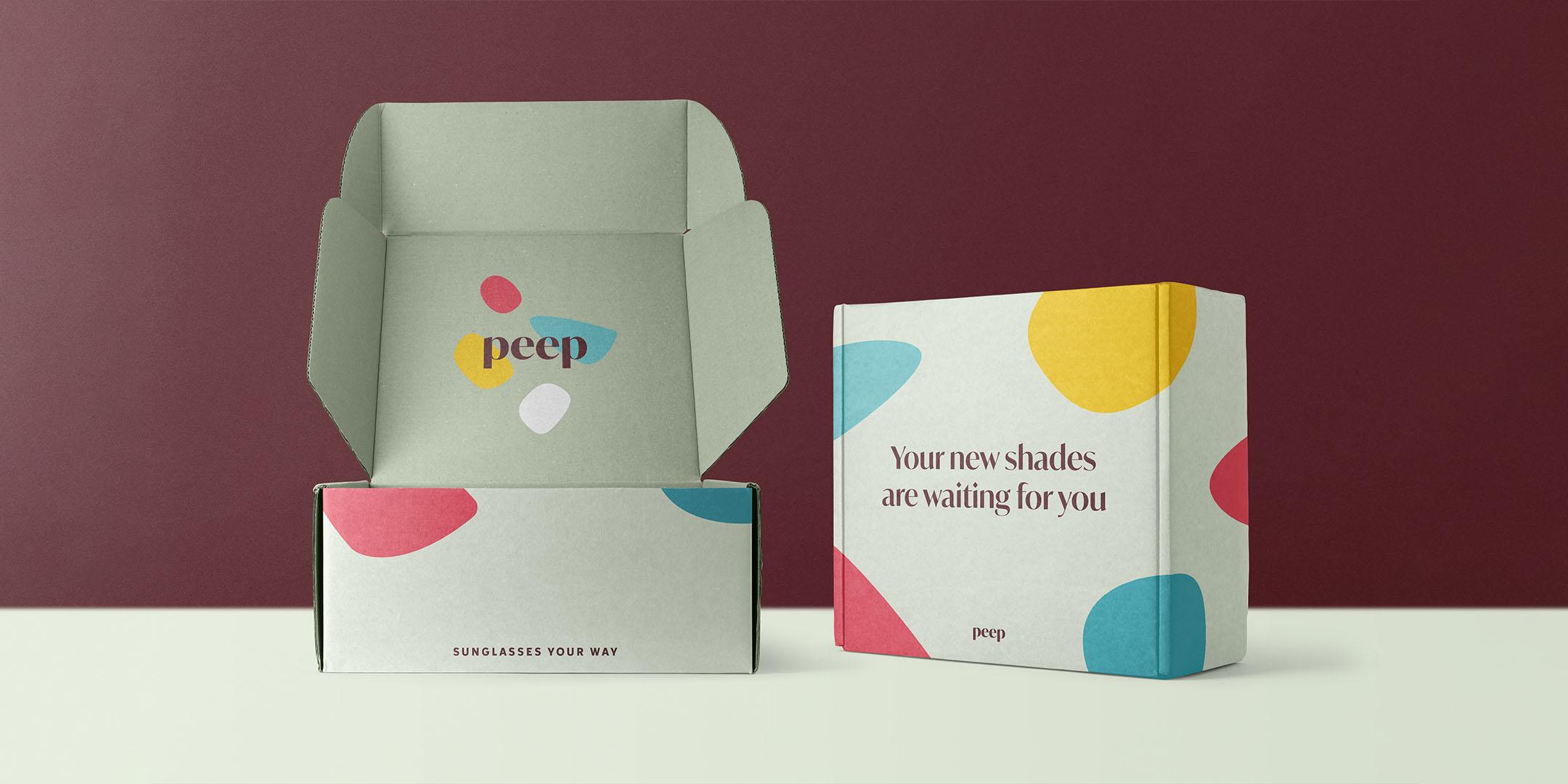 Peep packaging open & closed