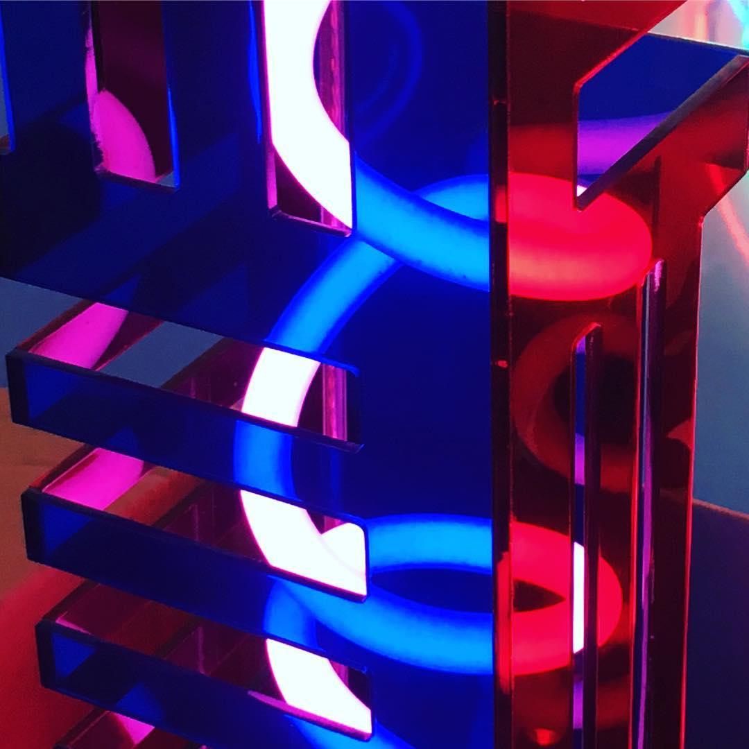 neon close up photo