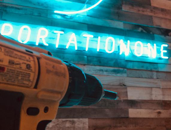 neon installation closeup 2